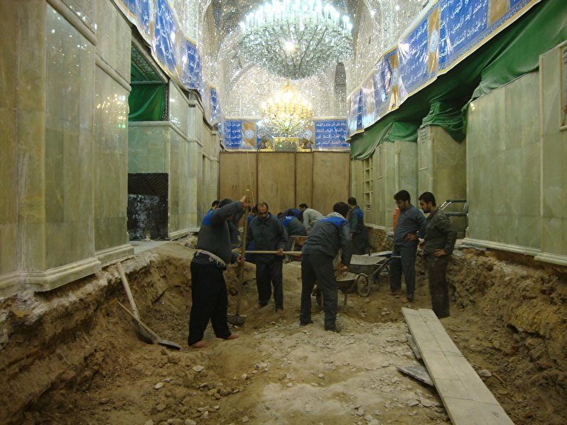 Continue to rebuild the Atabat(Holy Shrines) without halt even for a day