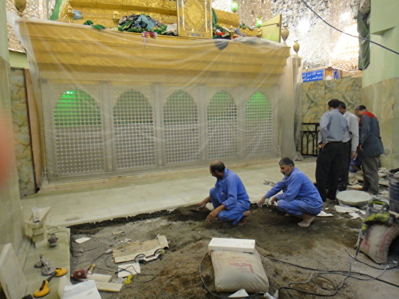 A person from Sari devoted one billion Tomans reconstructing of Atabat(Holy Shrines)