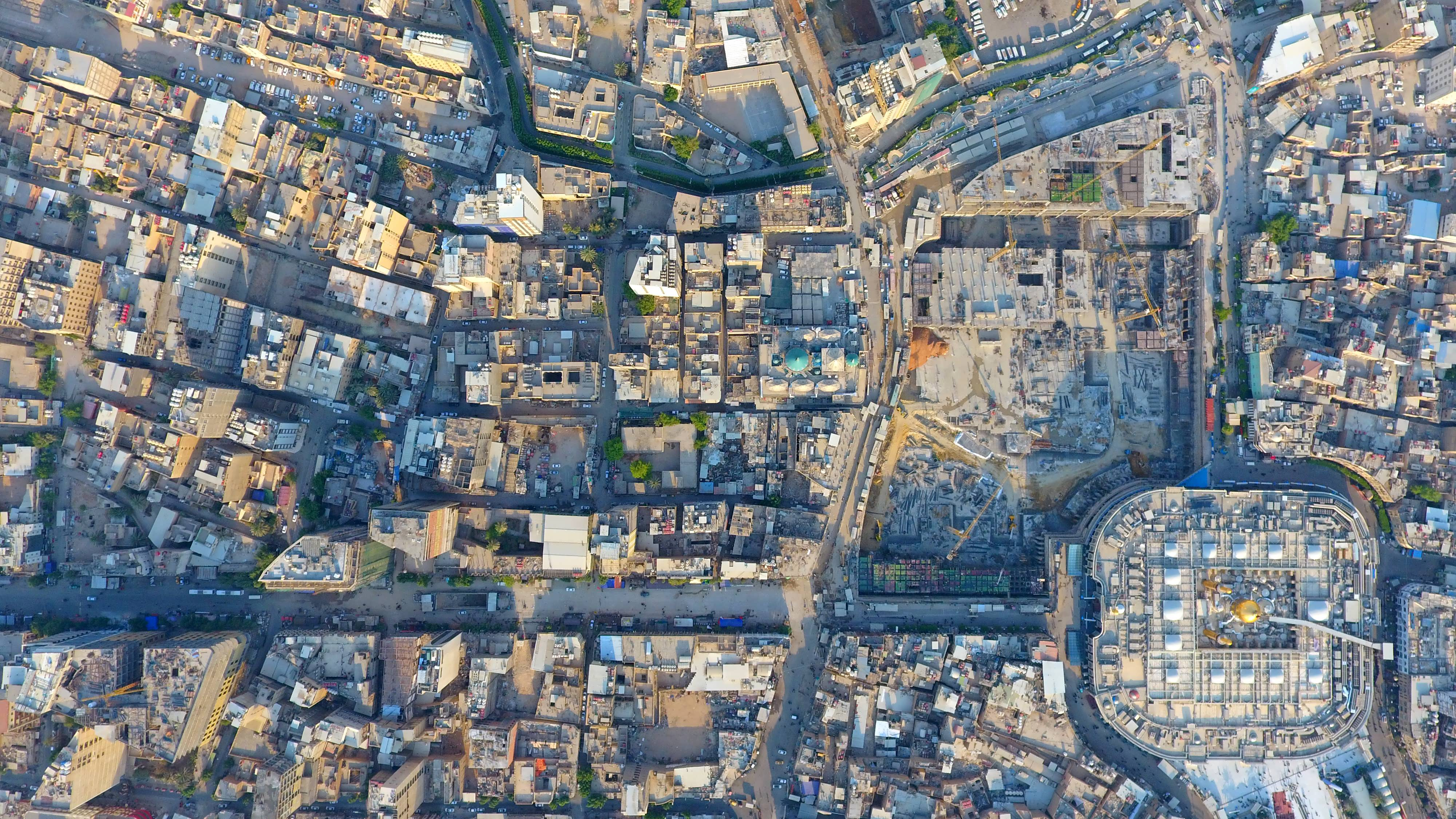 Karbala-An aerial Image of