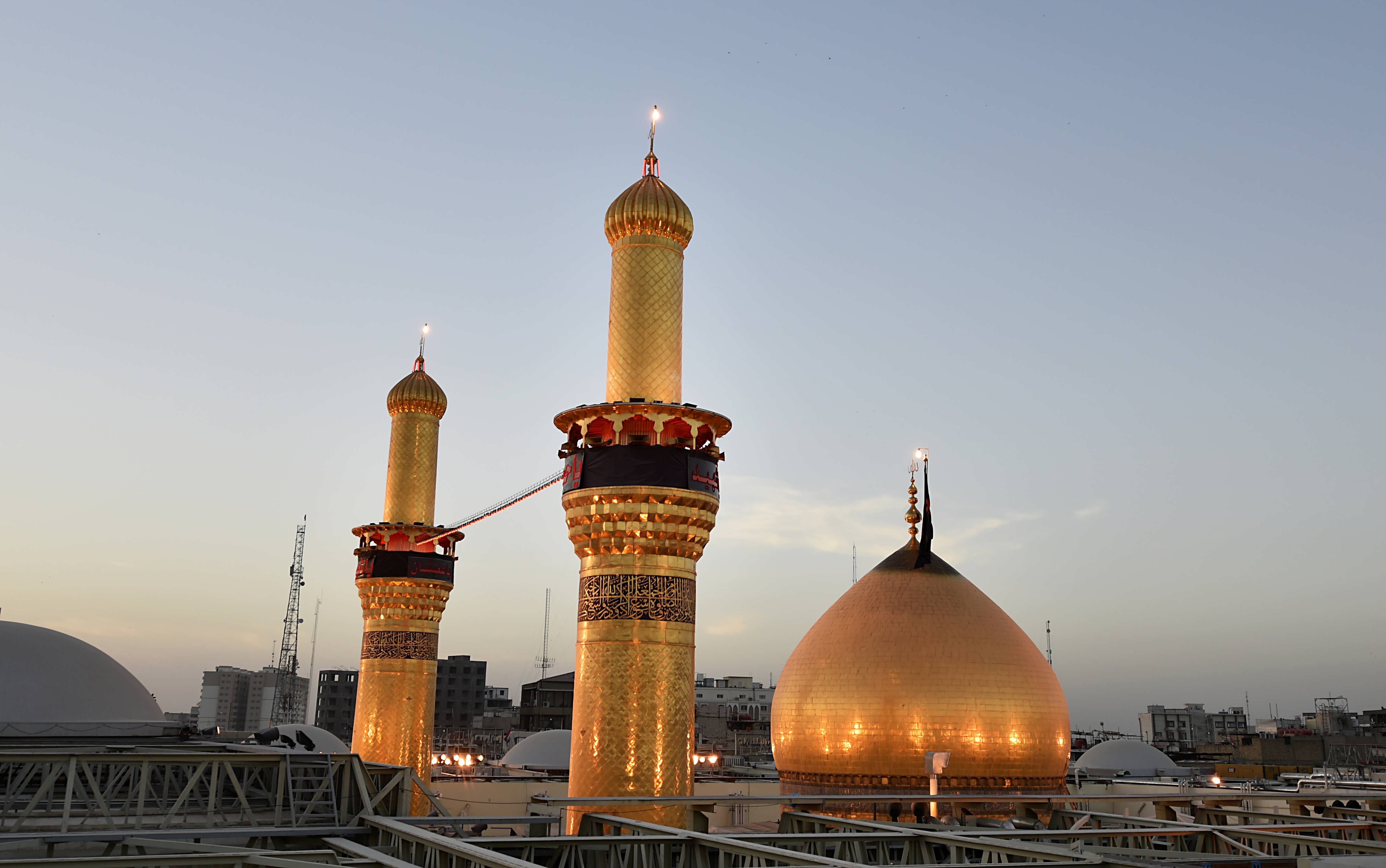 Karbala- A few steps away from Holy Shrine of Imam Hussein(PBUH)